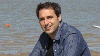 El periodista Juan Mascardi.
