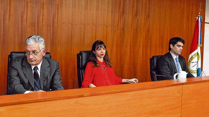 Tribunal. Los jueces Curto