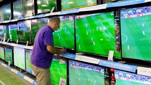 Se vendieron más televisores por el Mundial