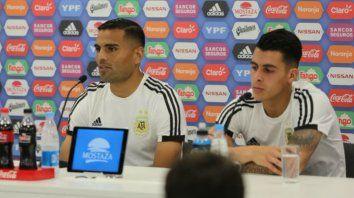 Mercado y Pavón hablaron del partido con Croacia en conferencia de prensa.