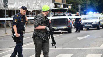 Cuatro heridos durante un tiroteo en Suecia