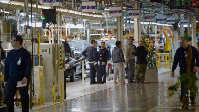 Los empleados de la planta de Alvear de General Motors