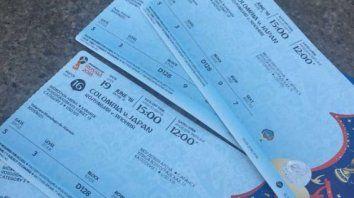 Una exgloria del fútbol revende entradas para el Mundial