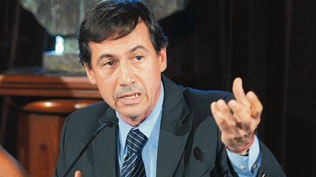 Luis Naidenoff. El presidente del interbloque Cambiemos en el Senado.