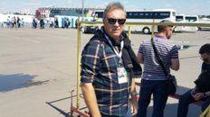 Campeón mundial. El arquero en México 86, en el estadio moscovita donde debutó Argentina.