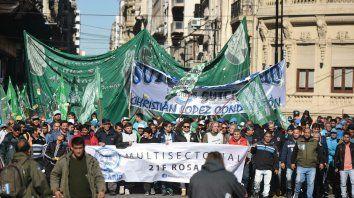 La Multisectorial sale otra vez a la calla para repudiar los tarifazos.