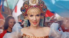 nati oreiro en rusia es tan celebrity como lionel messi