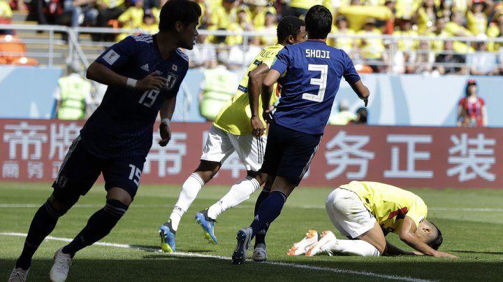 La fiesta fue para Japón, que sorprendió a Colombia en el debut del Mundial
