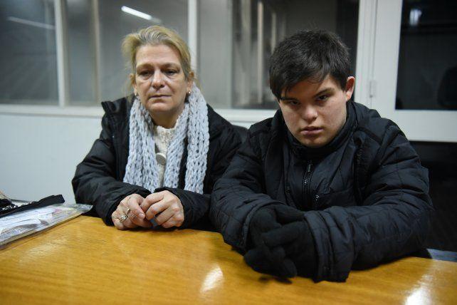 La dramática situación de una mujer y su hijo discapacitado que están al borde del desalojo