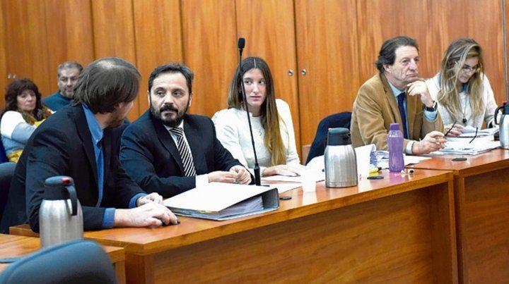 Acusadores. El fiscal Adrián Spelta y el querellante Jorge Bedouret.