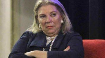 La diputada de Cambiemos, Elisa Carrió.