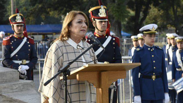 Acto por el Día de la Bandera