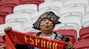 España e Irán empatan 0 a 0 al final del primer tiempo