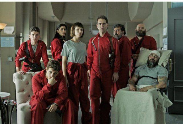 La Casa de Papel fue premiada como la mejor serie en el Festival de Montecarlo