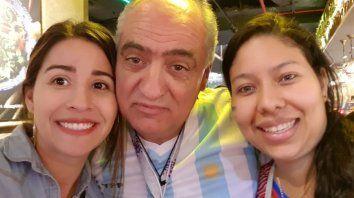 Me gustan las mujeres como a él, es irónico, asegura Horacio. (Fotos: gentileza La Nueva Provincia)