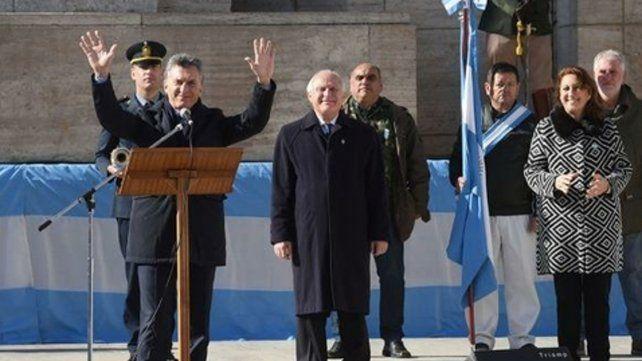 La instantánea de una ciudad repleta de vallas en los alrededores del Monumento no le servía de nada a Macri