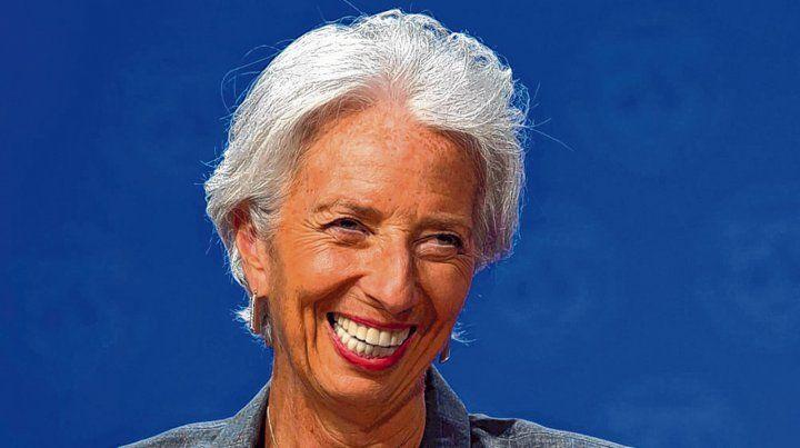 Feliz. El Fondo recuperó centralidad en la economía argentina. Lagarde auguró éxito al plan económico.
