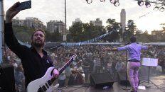 Masivo. El público disfrutó de los shows dedicados a la música popular.