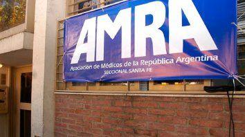 Los médicos de AMRA Santa Fe también adhieren al paro del lunes