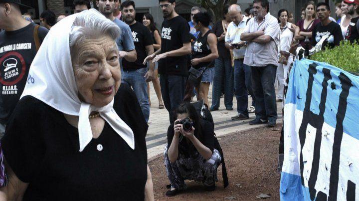Murió Chiche Massa, incansable luchadora de Madres de la Plaza
