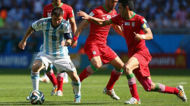Argentina contra Irán