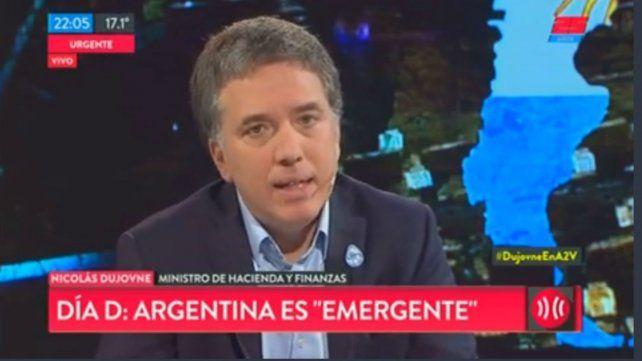 Dujovne: Macri es el dirigente con mejor imagen internacional de la historia Argentina