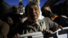 Chiche Massa, presente en cada marcha de Rosario.