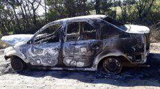 hallan un auto incendiado similar al del ataque al juez