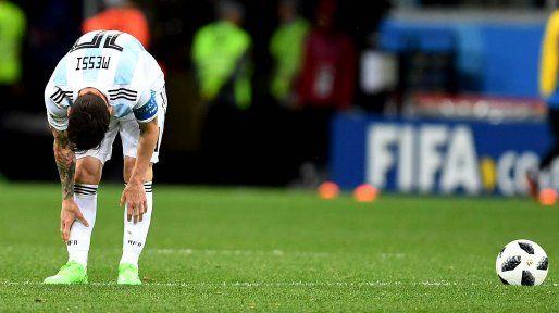 La contundente derrota con Croacia dejó a la Argentina al borde del abismo