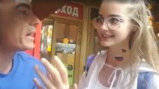 la chica rusa filmada y acosada dijo que no juzga a argentina