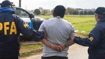 Detenido. Cristian González fue apresado hace diez días por la Federal.