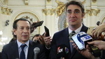 Nuevo equipo. Dante Sica y Javier Iguacel reemplazarán a Cabrera (Industria) y Aranguren (Energía).