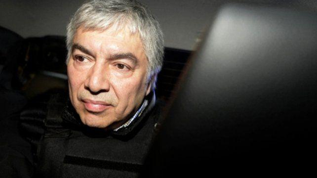 Detenido. Lázaro Báez no encuentra alivianar sus causas judiciales.
