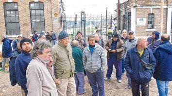 Triste aniversario. Hace exactamente un año atrás, los trabajadores se encontraron con las puertas cerradas.