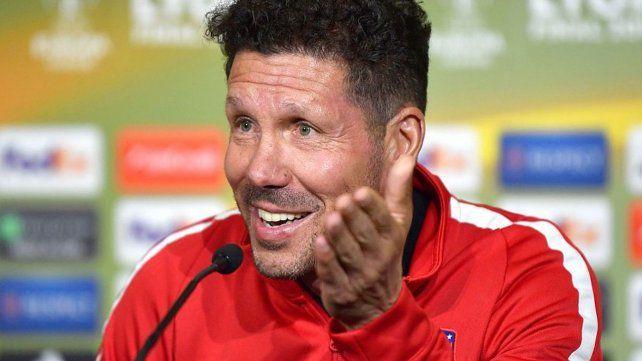 Sin pelos en la lengua. Simeone habló de anarquía en el fútbol argentino y fue duro con Willfredo Caballero.