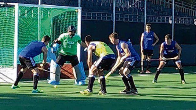 Ultimo ensayo. Los campeones olímpicos ganaron y esperan el debut en Breda.
