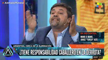 Caruso: Quieren echar a Sampaoli y poner a Burruchaga