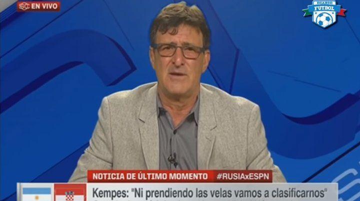 Fue vergonzoso, afirmó Kempes, y pidió que se vayan el DT y Messi