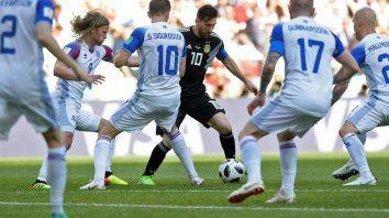 Si Argentina e Islandia igualan en puntos y goles define el Fair Play