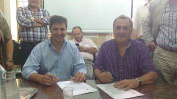 Gustavo Leone, secretario de Gobierno municipal, acordó la cláusula gatillo con Ratner, del gremio de los municipales. (Foto de archivo)