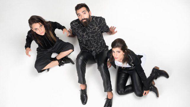 Noche de rock. El trío cordobés actuará esta noche en el teatro Vorterix.