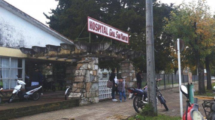 El efector. El hospital San Martín tiene 60 años y aseguran que prácticamente no tuvo mantenimiento.