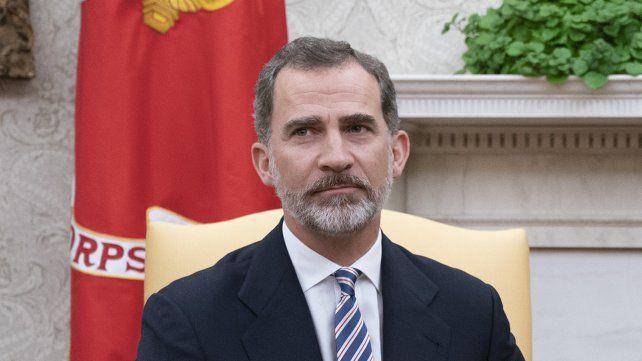 Secesionistas catalanes desairan al rey Felipe VI
