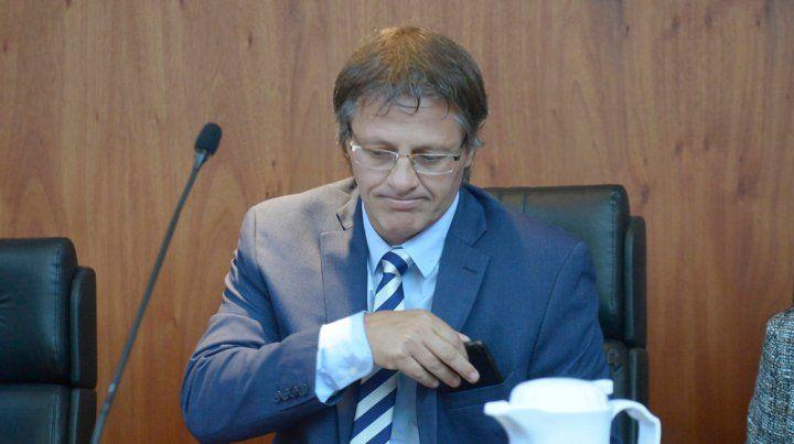 Preocupado. Ismael Manfrin decidió apartarse de la causa de Los Monos tras presidir el tribunal que los condenó.