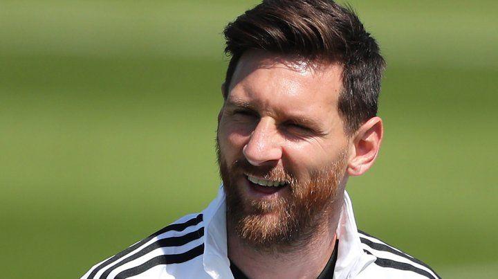 Vuelve a sonreír. Leo Messi