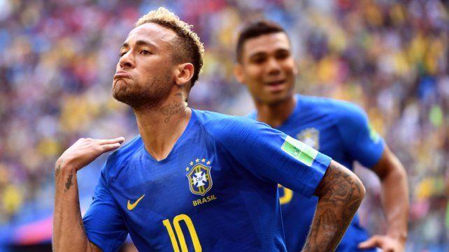 De diez. Neymar decretó el 2 a 0 a los 97 y explotó en llanto. El crack apunta ahora a ganarle a Serbia para clasificar a octavos.
