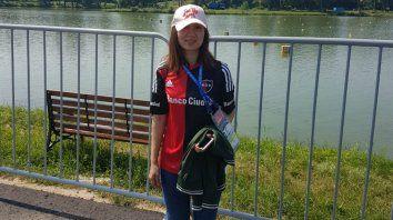 La periodista de China, fanática de Messi y leprosa.