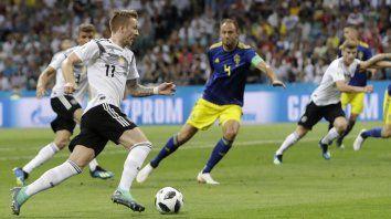Marco Reus, autor del empate alemán.