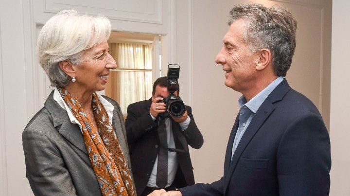 La jefa. El FMI se convirtió en el socio mayor de la alianza gobernante.