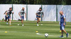 ¿Todo roto? El equipo argentino entrenó ayer en Bronnitsy, pero los rumores sobre las peleas internas superaron cualquier interés sobre la formación y el esquema para enfrentar a Nigeria.